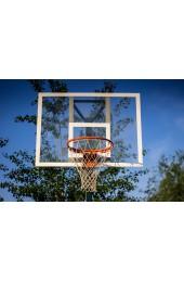 Баскетбольный щит тренеровочный размером 1200х900мм, изготовлен из оргстекла 10мм, с металлической рамой - Купить в интернет магазине СПОРТ СВIТ