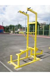 Комбинированный уличный тренажер 2 в 1 - Купить в интернет магазине СПОРТ СВIТ