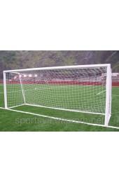 Сетка футбольная юниорская простая, диаметр шнура 3,5мм