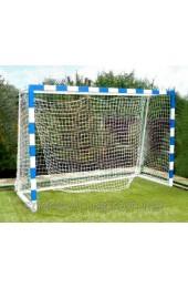 Сетка минифутбольная (гандбольная) простая игровая, диаметр шнура 3.5м с гасителями