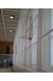 Сетка оградительная (разделительная)ячея 100х100, диаметр шнура 4,5мм, м.кв белая