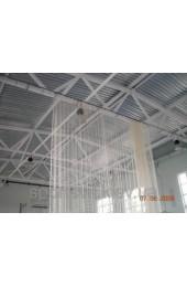 Сетка оградительная (разделительная)ячея 40х40, диаметр шнура 3,5мм, м.кв., белая