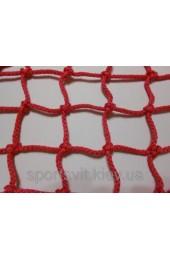 Сетка оградительная (разделительная)ячея 80х80, диаметр шнура 3,5мм, цветная, м.кв