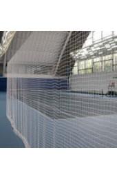 Сетка заградительная (разделительная), ячея 40х40 д-р шнура 2,3мм, белая