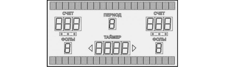 Баскетбольное табло купить в интернет магазине СПОРТ СВIТ